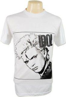 NWT Billy Idol William Michael Albert Broad Punk Rock T Shirt S,M,L,XL
