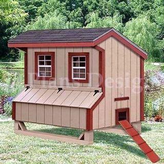 Saltbox Chicken Coop