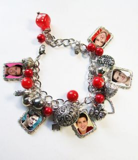 BIG TIME RUSH ** LOGAN HENDERSON ** Charm Bracelet