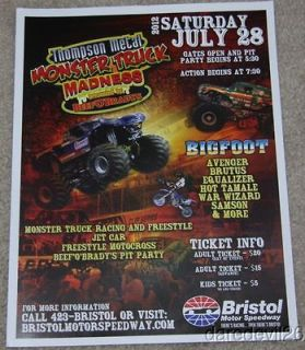 2012 Bigfoot Ford Monster Truck Bristol Monster Truck Madness