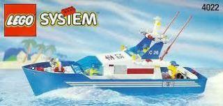 Lego 4022 Sea Cutter Town Coast Guard Boat