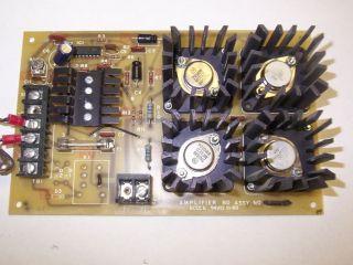 Simplex 556 620 0556620 AMPLIFIER BOARD FOR FIRE ALARM 2001 PANEL