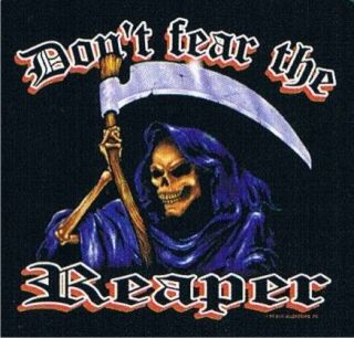 THE REAPER Wild Ride Motorcycle Rally Death Angel Cool Biker T Shirt