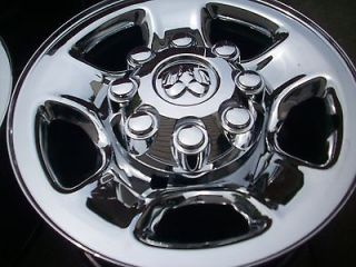 17 DODGE RAM BIG HORN 2500 3500 FACTORY OEM CHROME CLAD WHEELS RIMS