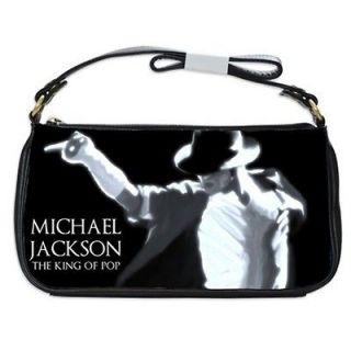 Michael Jackson King Of Pop Collectible Genuine Leather Shoulder