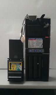 TRC 6512 Coin Mech Changer & Mars VN 2000 Validator MDB Set + Harness