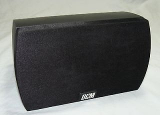 DCM CINEMA 1 CENTER CHANNEL BOOKSHELF SPEAKER