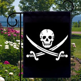 Sword Pirate NEW Small Garden Flag Banner Free Ship USA Boat Biz Home