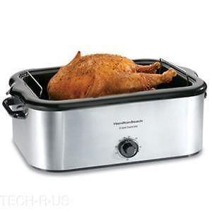 Hamilton Beach 32229 Roaster Electric Oven  Single   Stainless Steel