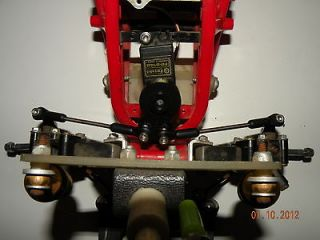 TAMIYA BLACKFOOT MONSTER BEETLE MUD BLASTER CENTER MOUNT STEERING