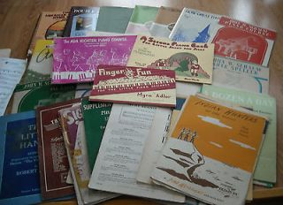 SHEET MUSIC / SONG BOOKS PIANO ORGAN CHILDREN GOSPEL   1913   1981
