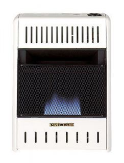 BLUE FLAME NATURAL OR PROPANE GAS HEATER 10000 BTU (Manual Control)