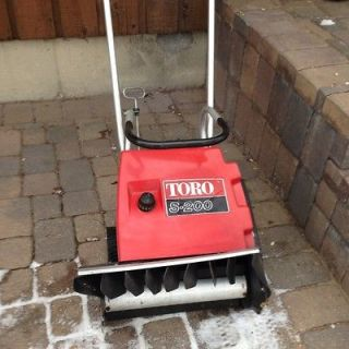 toro s200 snow blower