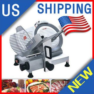 Commercial ELECTRIC MEAT SLICER 250mm (10) BLADE 0.2 12mm THICKNESS