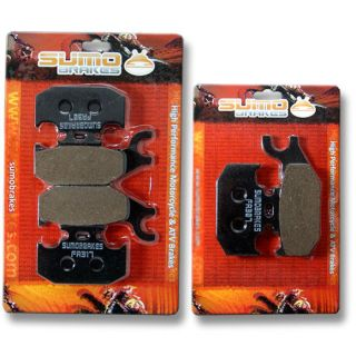 Bombardier Front + Rear Brake Pads Outlander 330 400 650 800 2003 2004