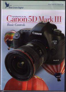Blue Crane Canon EOS 5D Mark III 2 DVD Set with  Bonus