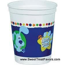 BLUES CLUES Party Supplies CUPS Favor Birthday Dog Decoration Plastic