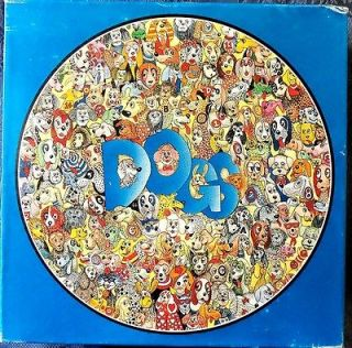 Bits & Pieces Puzzle DOG CRAZY 500 Pieces Round Jerold Bishop