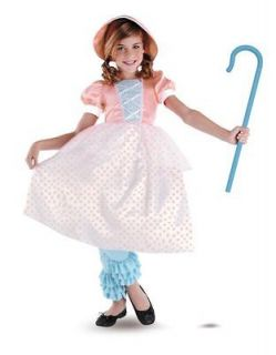 BO PEEP DISNEY TOY STORY DELUXE TODDLER CHILD COSTUME Girl Theme Party
