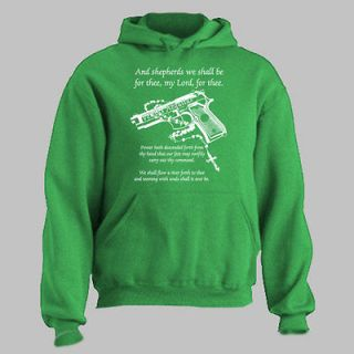 SAINTS ~ HOODIE Gun Rosary Prayer boon dock ALL SIZES AND COLORS