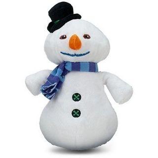 Disney Store Doc McStuffins CHILLY the SNOWMAN Mini Bean Bag Plush Toy