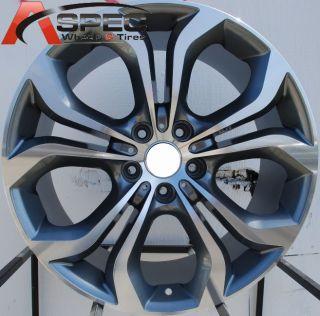 10.5 M STYLE STAGGERED WHEELS 5X120 RIMS 74.1 HUB FITS BMW X5 X6
