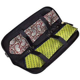 Buxton Nylon Zippered Travel Tie Case 20768