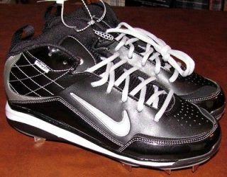 Nike Air Max MVP Metal Mens Baseball Cleats Shoes 429914 001 13 Black