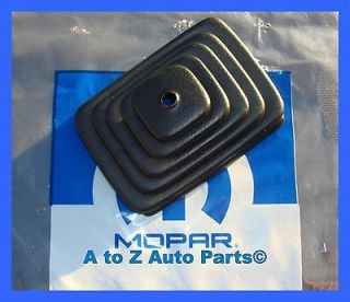 NEW 1997 2004 Jeep Wrangler TJ Manual SHIFTER BOOT, OEM Mopar