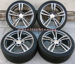 19 BMW M5 STYLE STAGGERED WHEELS AND TIRES FOR 325I, 328I, 330I, 335I
