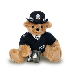 BRITISH FEMALE BOBBY POLICE TEDDY BEAR Queens Diamond Jubilee Sold Out