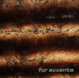 Newly listed 7 Faux Fur Pelt Rug CHINCHILLA Bear Skin Accent Rug Fake