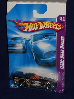 Hot Wheels 2008 TEAM Drag Racing Series 1/4 #157 Mustang Funny Car