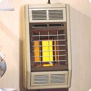Empire10K BTU Manual Vent Free Radiant LP / Natural Gas Heater