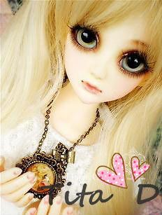 Dal.Pullip.BJD.SD LUTS BLYTH Doll LONG BLONDE WAVY wig hair
