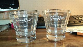 Crown Royal Glasses Set of Two