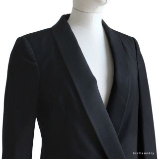 Boy. By Band of Outsiders Black Long Tailed Tuxedo Morning Jacket Size