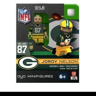 GREEN BAY PACKERS JORDY NELSON NFL OYO FOOTBALL MINI FIGURE LEGO