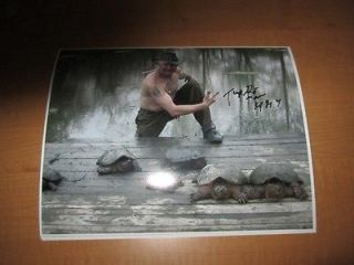 Call of the Wildman ERNIE BROWN JR. Turtleman Signed AUTOGRAPHED