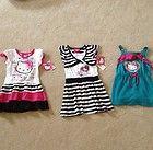 Lot of Girls Size 5 Dresses Bonnie Jean B T Kids Hello Kitty