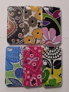 Backed iPhone 4 Cases~Fabrics incl. Vera Bradley & Others~U Choose