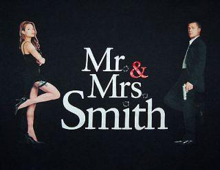 Mr. & Mrs. Smith Brad Pitt Angelina Jolie Love Gets Lethal 2005 Black
