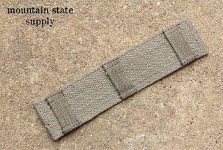 25 1 1/4 Rifle Gun Sling / Shoulder Holster Comfort Canvas Pad