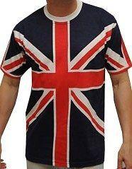 Union Jack Mens T Shirt British Flag New Summer Top Shirt Short