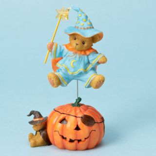 CHERISHED TEDDIES Figurine Halloween Wizard Bear 4023729 PURE MAGIC
