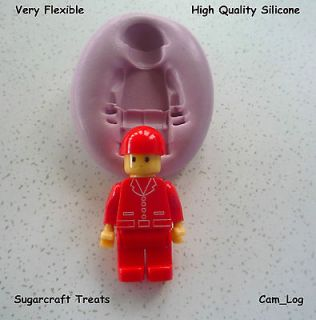 Lego Man Silicone Mould Sugarcraft, Cake Decorating,Cra fts,Fimo