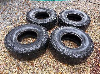 Set of 4 Super Swamper TSL tires, 33 12.50 R 15 LT, 33X12.50 R15LT, NO