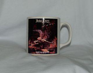 Judas Priest Mug New Rare Coffee Iron Maiden Motorhead Accept Savatage