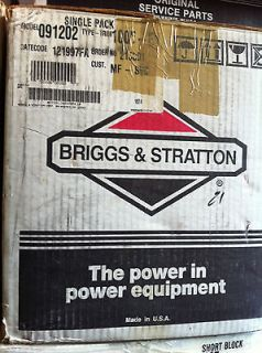 BRIGGS & STRATTON 691202 Short Block  $189.00 FREE SHIPPING