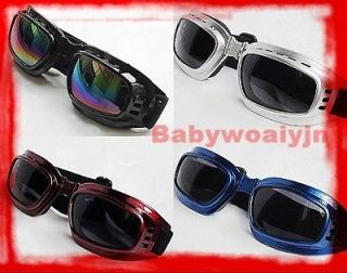 Vintage Style Ski Snowboard Motorcycle Helmet Sunglasses Glasses